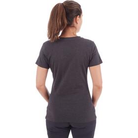 Mammut Zephira T-paita Naiset, black melange PRT3